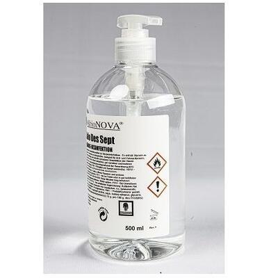 Händedesinfektion Pumpflasche 0,5L